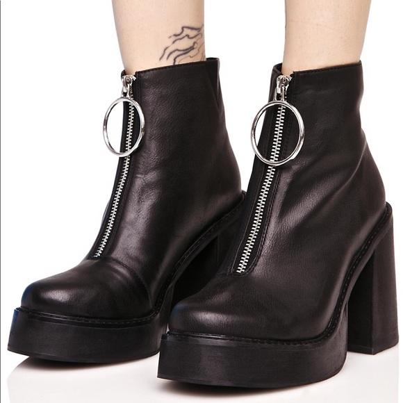Current Mood Franky Platform Boots